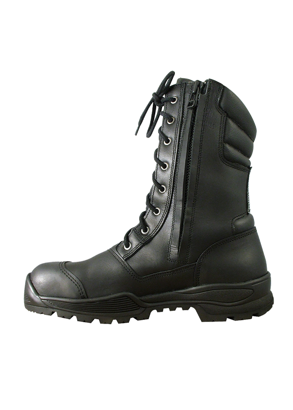 Rangers Boche® Vulcain IR vue de côté (zip apparent).