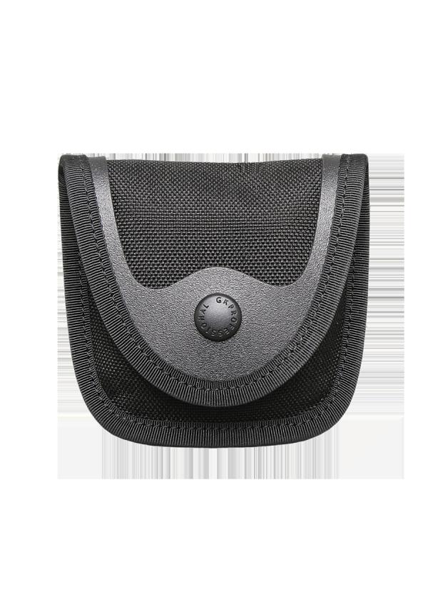 Porte Gants Nitrile noir en cuir Cordura.