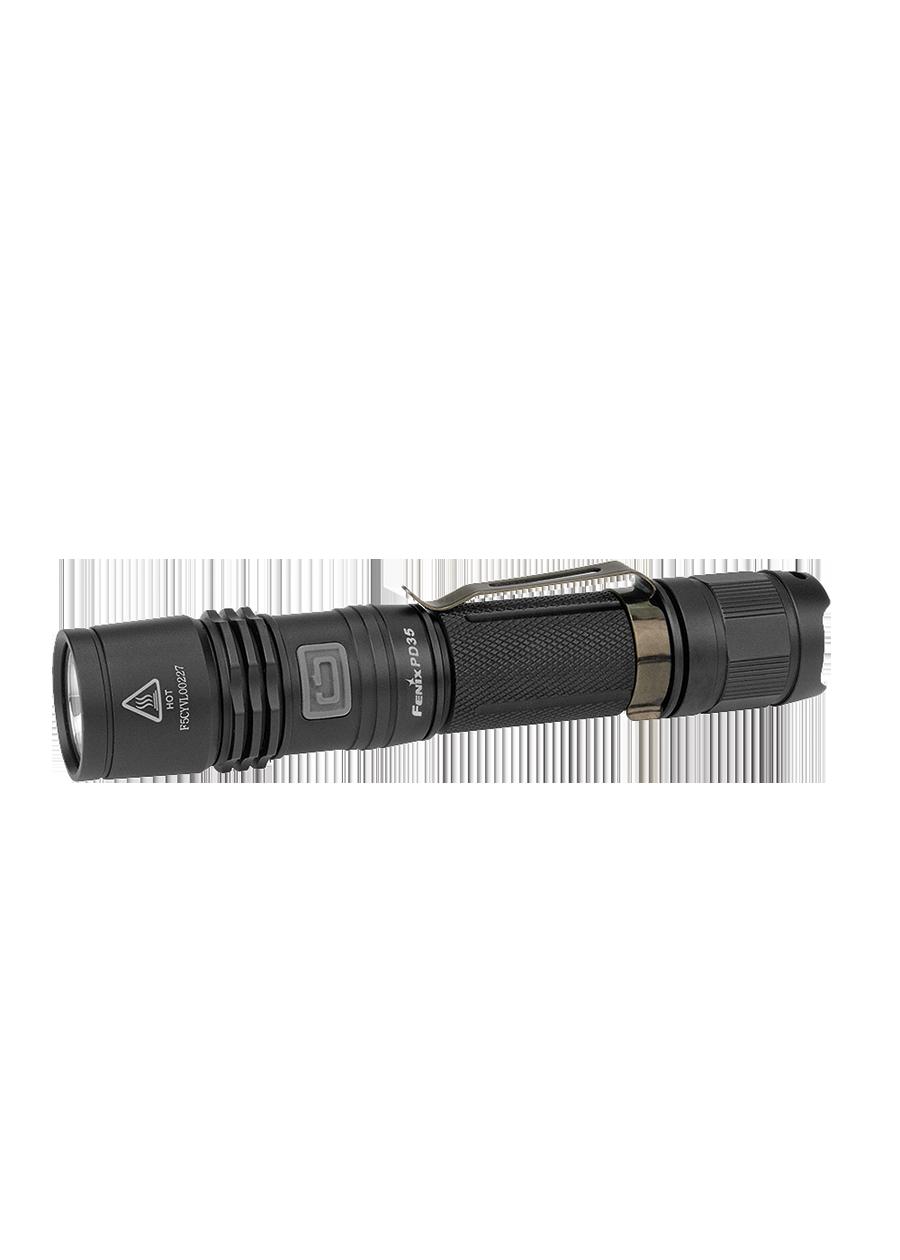 Lampe Fenix PD35 noire.