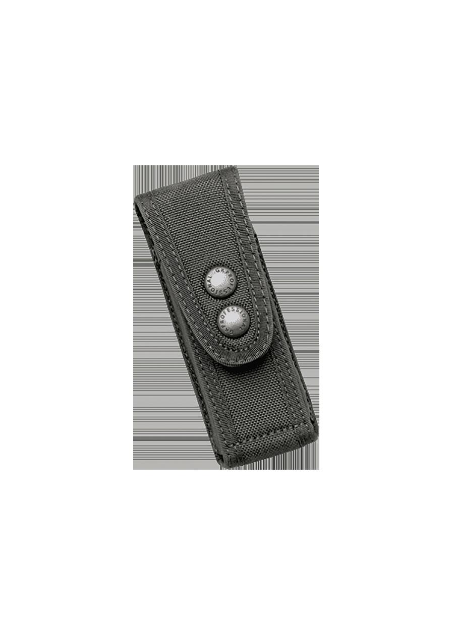 Porte Chargeur M.O.L.L.E® noir en cuir Cordura®.