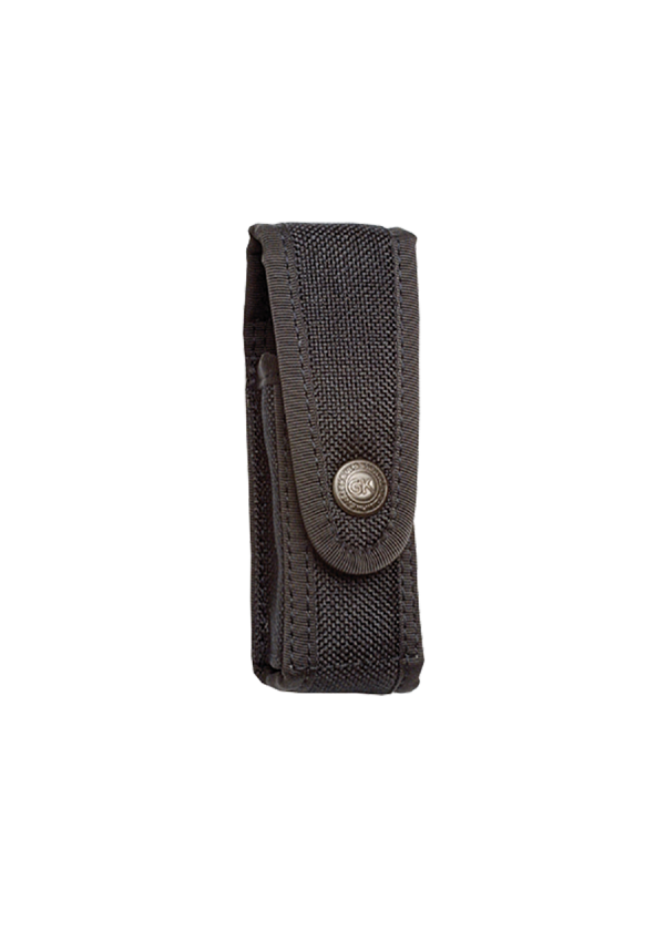 Porte-Aérosol 50ml noir en cuir Cordura®.