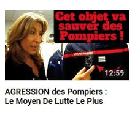 Vignette de la vidéo du Youtubeur Vincent Firelife sur la caméra d'intervention.